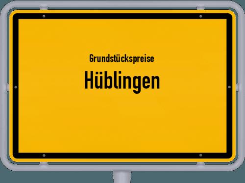 Grundstückspreise Hüblingen 2019