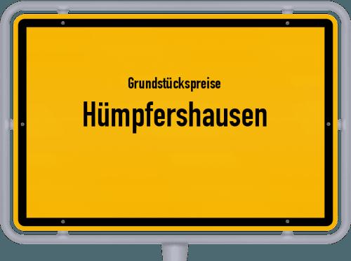 Grundstückspreise Hümpfershausen 2019