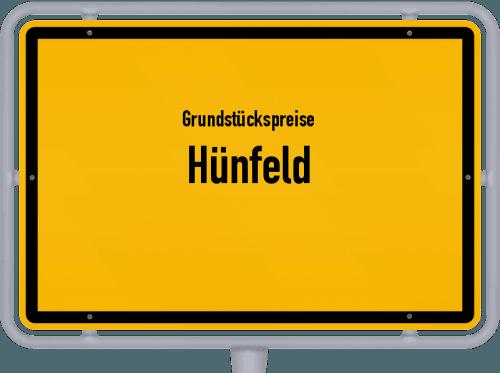 Grundstückspreise Hünfeld 2018