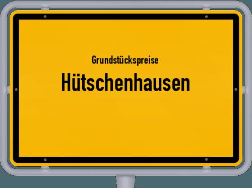 Grundstückspreise Hütschenhausen 2019