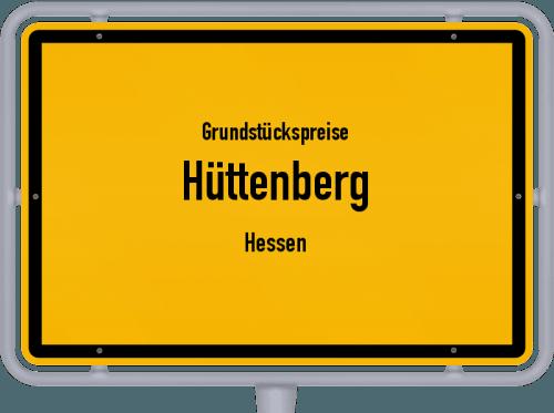 Grundstückspreise Hüttenberg (Hessen) 2020