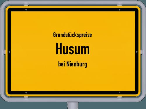 Grundstückspreise Husum (bei Nienburg) 2021