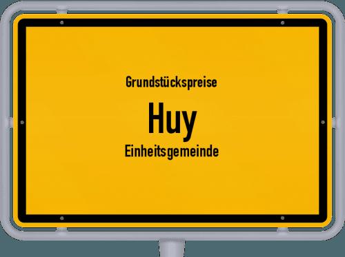 Grundstückspreise Huy (Einheitsgemeinde) 2021