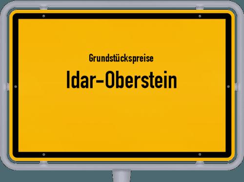 Grundstückspreise Idar-Oberstein 2021