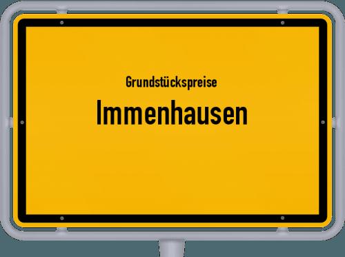 Grundstückspreise Immenhausen 2020