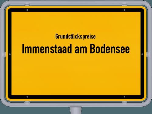 Grundstückspreise Immenstaad am Bodensee 2018