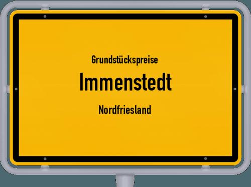 Grundstückspreise Immenstedt (Nordfriesland) 2021