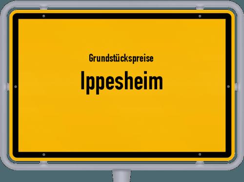 Grundstückspreise Ippesheim 2021