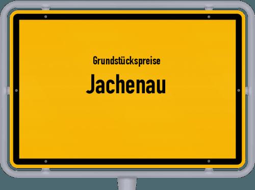Grundstückspreise Jachenau 2019