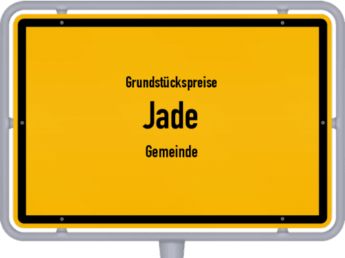 Grundstückspreise Jade (Gemeinde) 2019