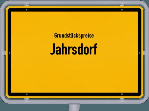 Grundstückspreise Jahrsdorf 2021