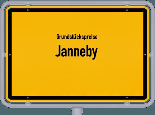 Grundstückspreise Janneby 2021