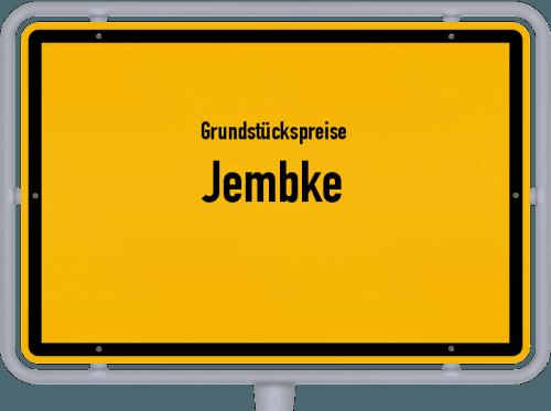 Grundstückspreise Jembke 2019