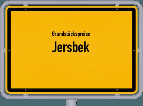 Grundstückspreise Jersbek 2021