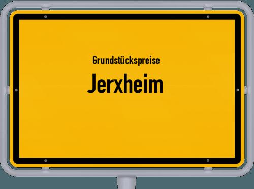 Grundstückspreise Jerxheim 2021