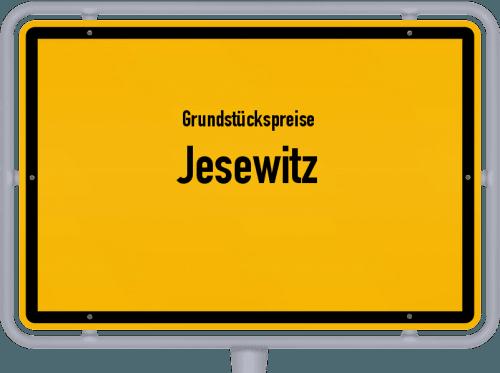 Grundstückspreise Jesewitz 2019
