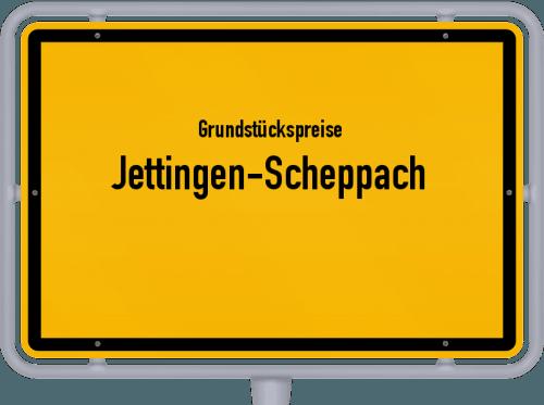 Grundstückspreise Jettingen-Scheppach 2021