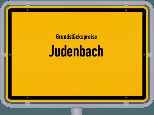 Grundstückspreise Judenbach 2019