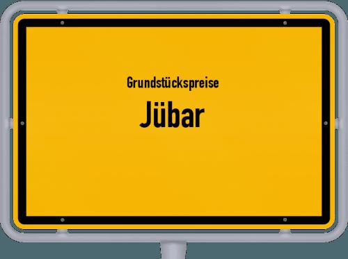 Grundstückspreise Jübar 2021