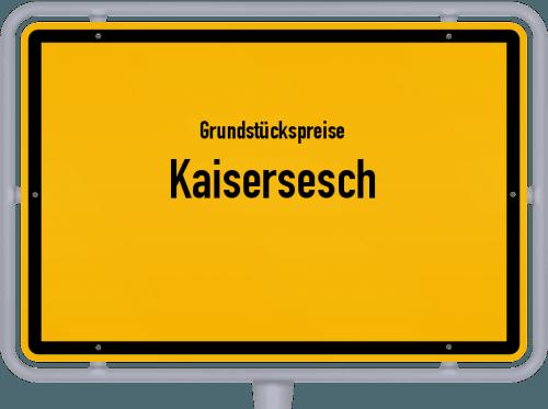 Grundstückspreise Kaisersesch 2019