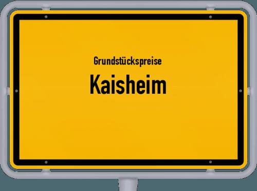 Grundstückspreise Kaisheim 2021