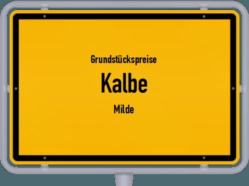 Grundstückspreise Kalbe (Milde) 2021