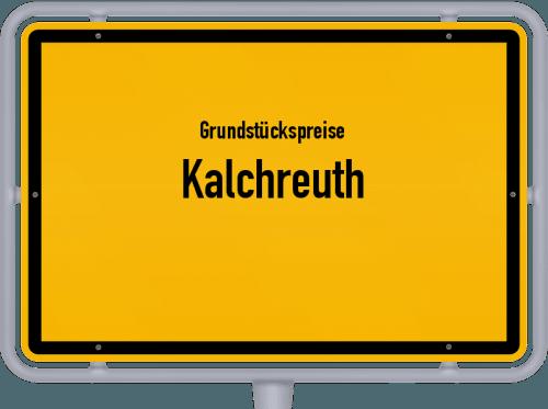 Grundstückspreise Kalchreuth 2019