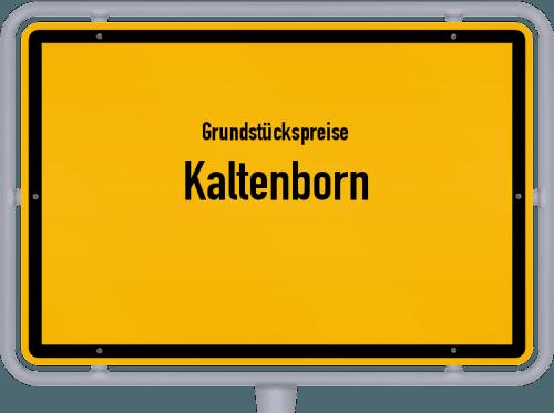 Grundstückspreise Kaltenborn 2019