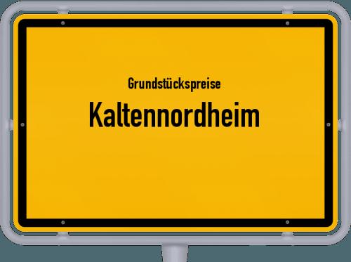 Grundstückspreise Kaltennordheim 2019