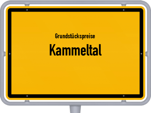 Grundstückspreise Kammeltal 2019