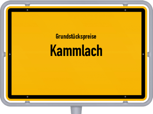 Grundstückspreise Kammlach 2021