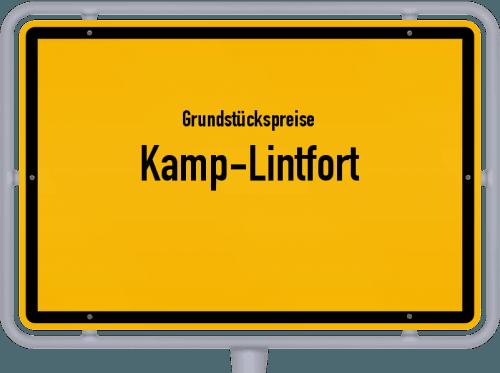 Grundstückspreise Kamp-Lintfort 2021