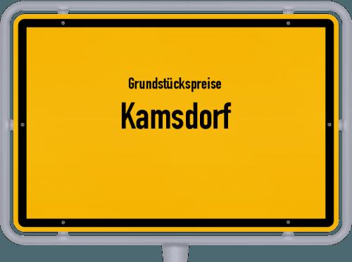 Grundstückspreise Kamsdorf 2019
