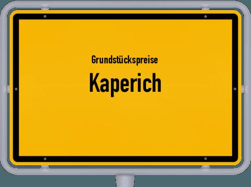 Grundstückspreise Kaperich 2019