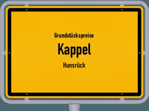 Grundstückspreise Kappel (Hunsrück) 2019