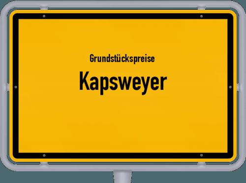 Grundstückspreise Kapsweyer 2019