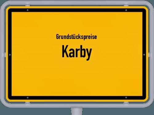 Grundstückspreise Karby 2021