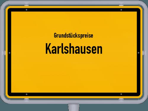 Grundstückspreise Karlshausen 2019