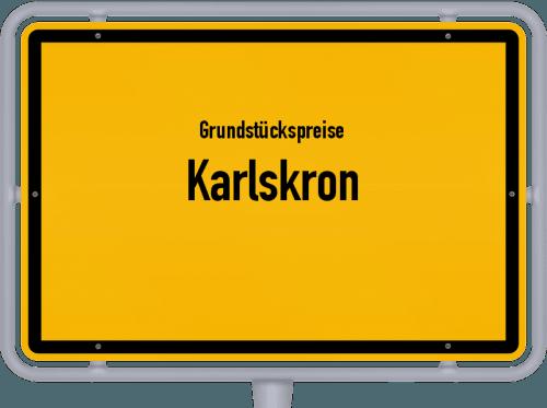 Grundstückspreise Karlskron 2019