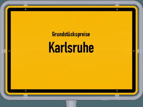 Grundstückspreise Karlsruhe 2021