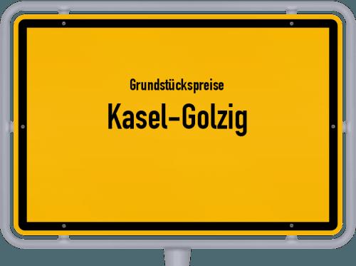Grundstückspreise Kasel-Golzig 2021