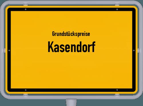 Grundstückspreise Kasendorf 2021