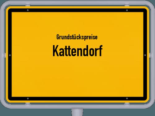Grundstückspreise Kattendorf 2021
