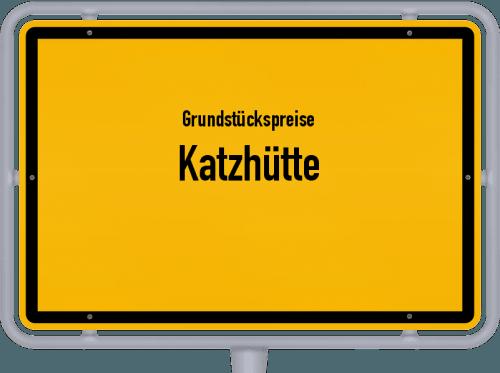 Grundstückspreise Katzhütte 2019