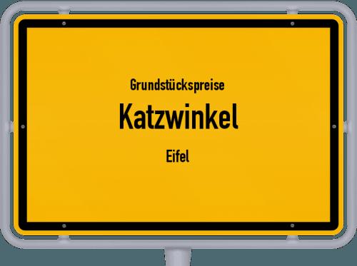 Grundstückspreise Katzwinkel (Eifel) 2019