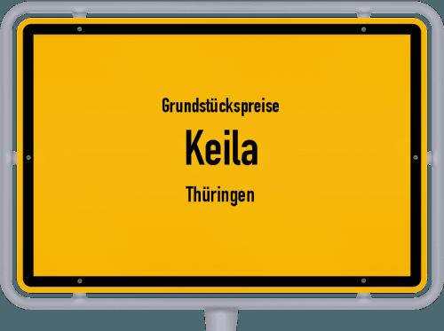 Grundstückspreise Keila (Thüringen) 2019
