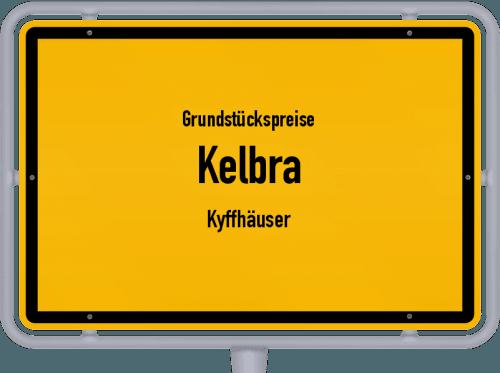 Grundstückspreise Kelbra (Kyffhäuser) 2021
