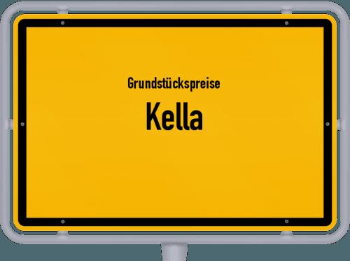 Grundstückspreise Kella 2019