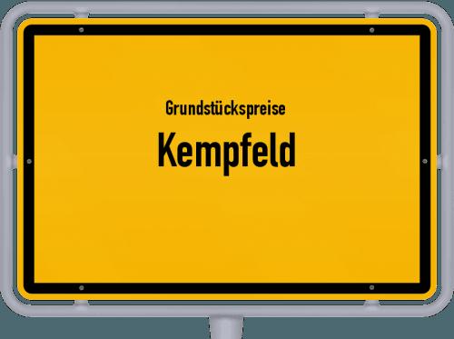 Grundstückspreise Kempfeld 2019