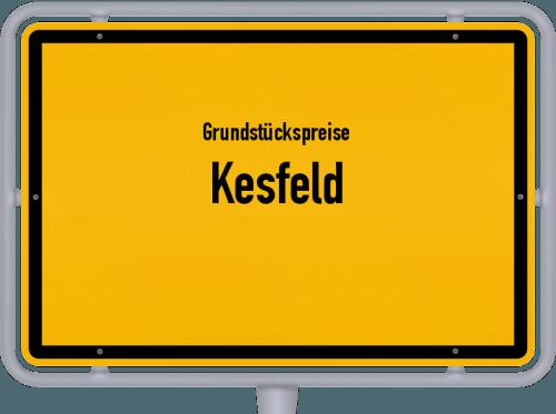 Grundstückspreise Kesfeld 2019